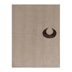 Kelim Crescent Handwoven Rug, 185x210 cm