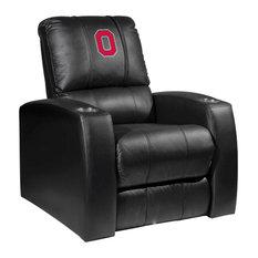 Ohio State University Collegiate Relax Recliner With Buckeyes Block O Logo