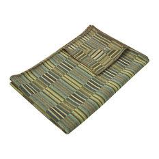 Reeds Merino Lambswool Throw, Jade