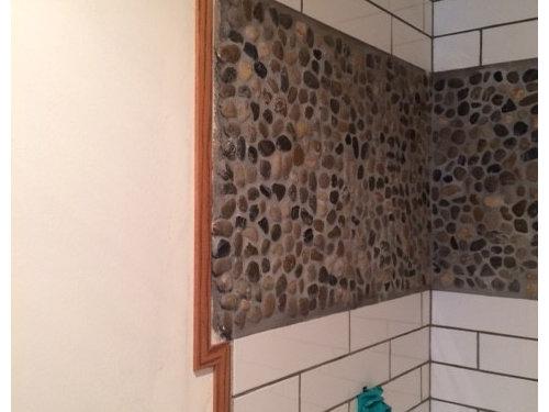 Help on Shower Door Install- uneven tile