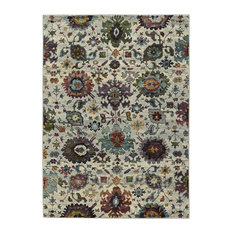"""Andorra Updated Traditional Stone and Multi Area Rug, 8'6""""x11'7"""""""