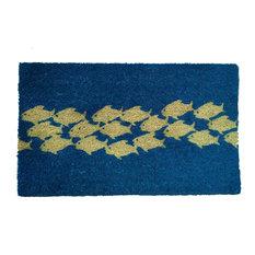 PVC Pool of Fish Doormat