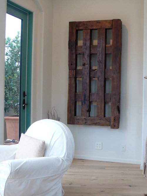 & Old Mexican Doors as Art