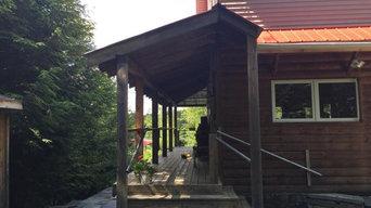 Sullivan's back porch