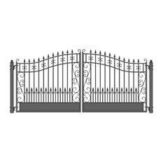 Aleko Iron Dual Swing Gate Venice Style, 16'