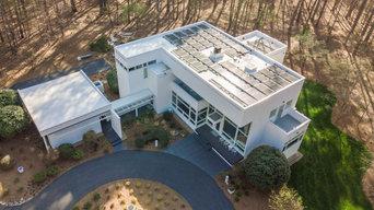 Flat roof solar