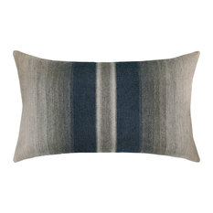 Elaine Smith Ombre Indigo Lumbar Pillow