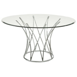 Contemporary Dining Tables by BASSETT MIRROR CO.