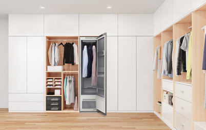Couture Closets: Smart Wardrobes & Luxe Finishes Are Making Waves