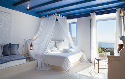 Hotel to Home: Capture a Greek Haven's Divine Design