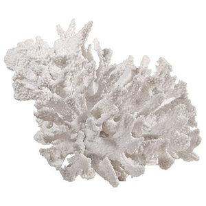 "Faux Coral Accent, 9.5"" x  8.5"" x  7"""