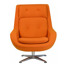 Commander Swivel Chair, Orange