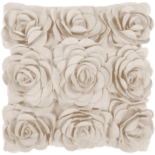 Felted Floral- (FA-080) - Decorative Pillows