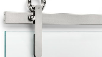 BALDUR Sliding Door Hardware Glass Mount