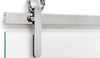 BALDUR Sliding Door Hardware Glass Mount