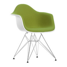 - Eames Plastic Armchair DAR Vollpolster - Sessel