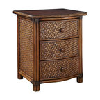 Marco Island Nightstand, Brown
