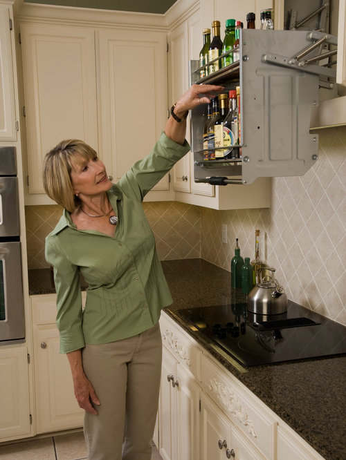 Kitchen Cabinet Pull Down Shelves Part - 21: Kitchen Pull Down Shelves - Kitchen Drawer Organizers