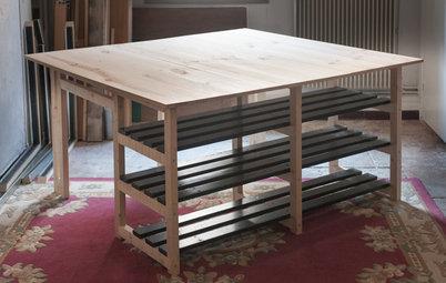 DIY : Fabriquez un grand îlot en bois pour moins de 60 euros