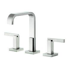 Danze Sirius Mini Widespread Bathroom Faucet, Brushed Nickel, D304644BN
