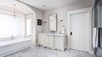 Maximized Shelf Storage Bathroom Upgrade in Anaheim, CA