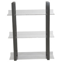 "GwG Outlet Metal Acrylic Shelf, 19""x25"""