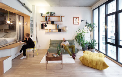 Houzz Tour: Old Garage in Paris Becomes a Family Loft