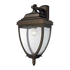 best price elk lighting 27011 1 brantley place 1 light outdoor wall