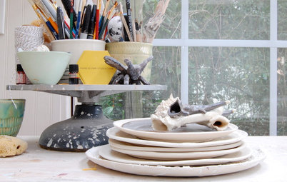 Studio Tour: From Old Shed to Sunny Ceramics Workshop