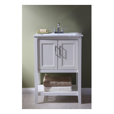24-inch Sink Vanity Without Faucet