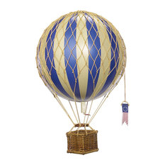 Authentic Models - Authentic Models AP161D Travels Light Balloon Decor,  Blue - Decorative Objects And