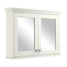 1050 mm Mirror Wall Cabinet, Pointing White