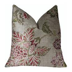 """Garden Secrets Multicolor Luxury Throw Pillow, 16""""x16"""""""