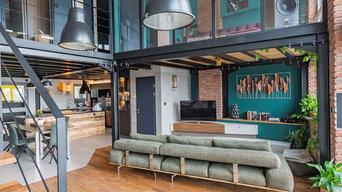 Recherche de luminaires et éléments de décoration pour un loft