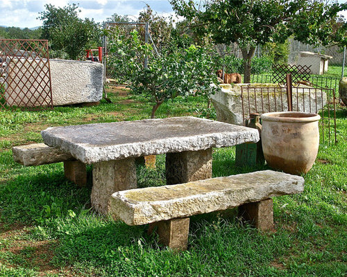Outdoor Tables (Mediterranean Style)   Outdoor Dining Tables