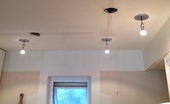 Because Of The Wide Angle Of The Halogen, We Only Needed Six Fixtures To  Light Our Small Kitchen.