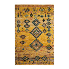 Safavieh Sinclair Hand Knotted Rug, Gold, 5'x8'