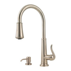 Pfister GT529-YP Ashfield 2 Function Pullout Spray High Arc Kitchen Faucet