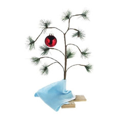 "Product Works, LLC - Product Works Peanuts Charlie Brown Christmas Tree, 24"" - Christmas Trees"