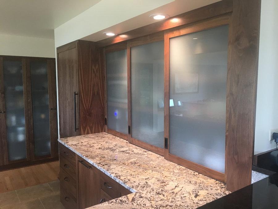 Bellevue/Kitchen Walnut Cabinets - Johnbuildsv LLC