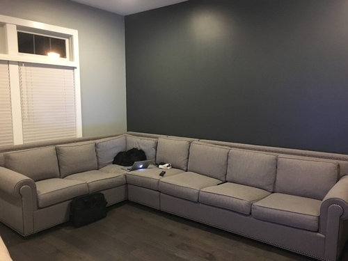 Beau I Have A Big Light Grey Couch With Grey Walls (the Back Wall Is A Darker  Grey Than The Rest Of The Walls). My Coffee Table Is Coming Shortly, Itu0027s A  Bulky, ...