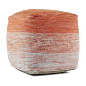 Deli Pouf Cover, Orange
