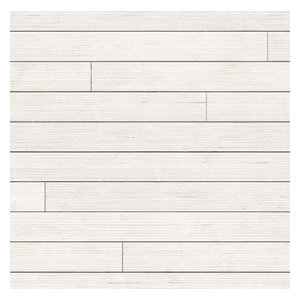 Rustic Barn Wood Shiplap, 6-Pack, White, 1 in. X 6 in. X 8 Ft.