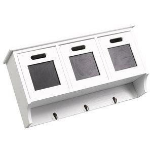 Paulownia Wood Wall Cabinet