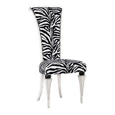 Modern Zebra Dining Chair