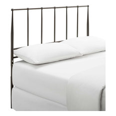 Modway Kiana Queen Metal Stainless Steel Headboard MOD-6105-BRN