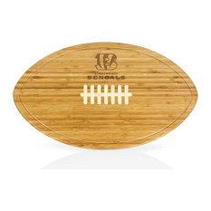 Cincinnati Bengals Kickoff Bamboo Cutting Board and Serving Tray