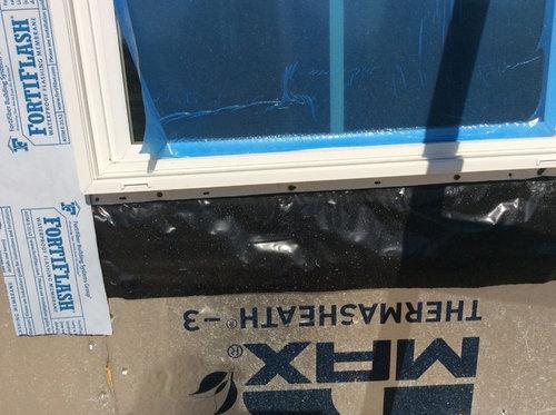 Window Sill Flashing Just 2 Mil Black Plastic