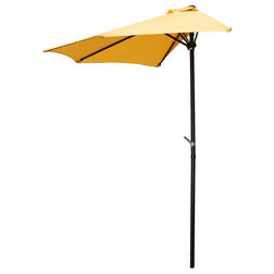 Contemporary Outdoor Umbrellas by International Caravan