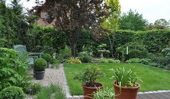 Reihenhaus Garten in Brandenburg
